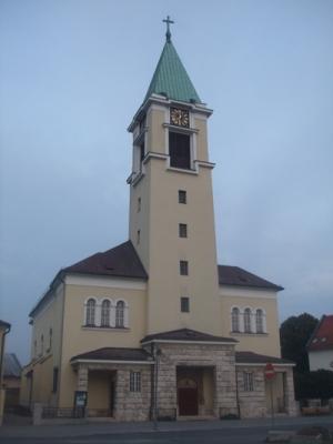 dnešná podoba kostola